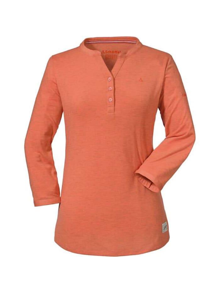 Schöffel Schöffel Shirt Longsleeve Johannesburg, Orange