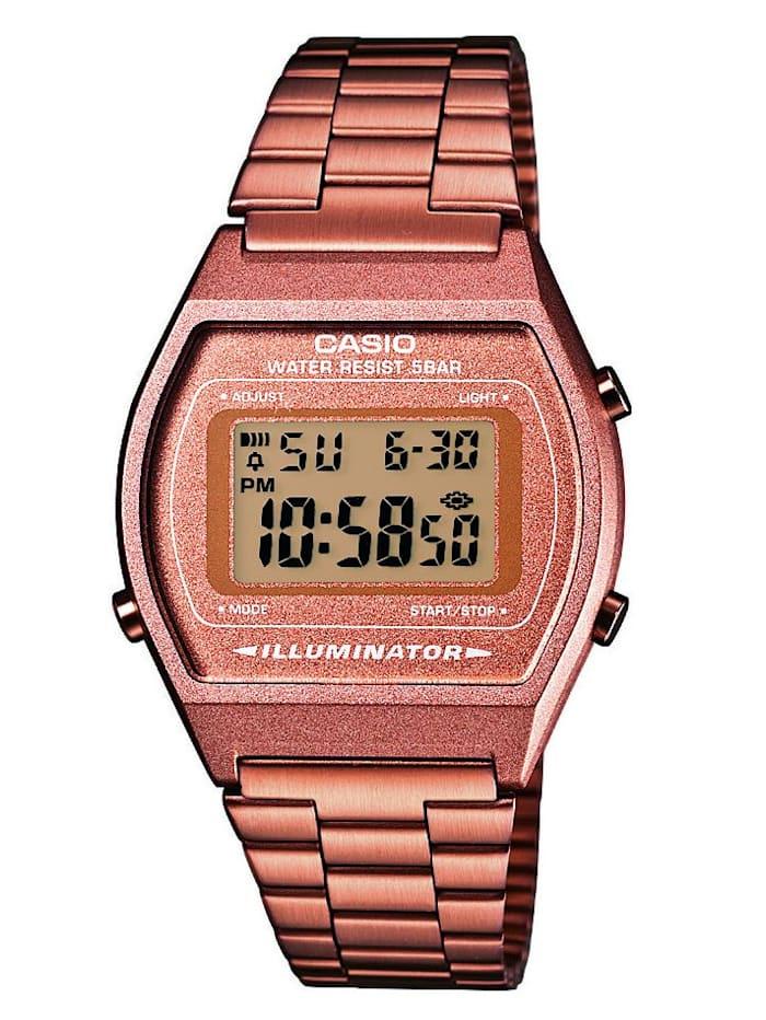 Casio Digitaluhr Chronograph B640WC-5AEF, Rosé