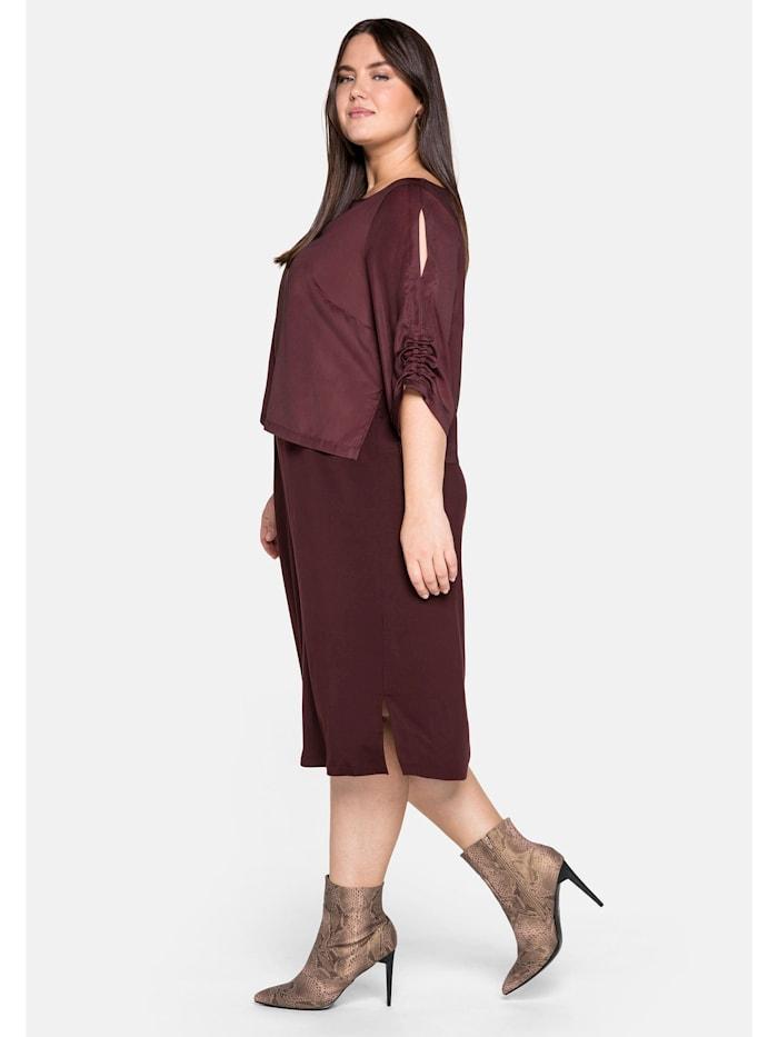 Kleid in 2-in-1-Optik