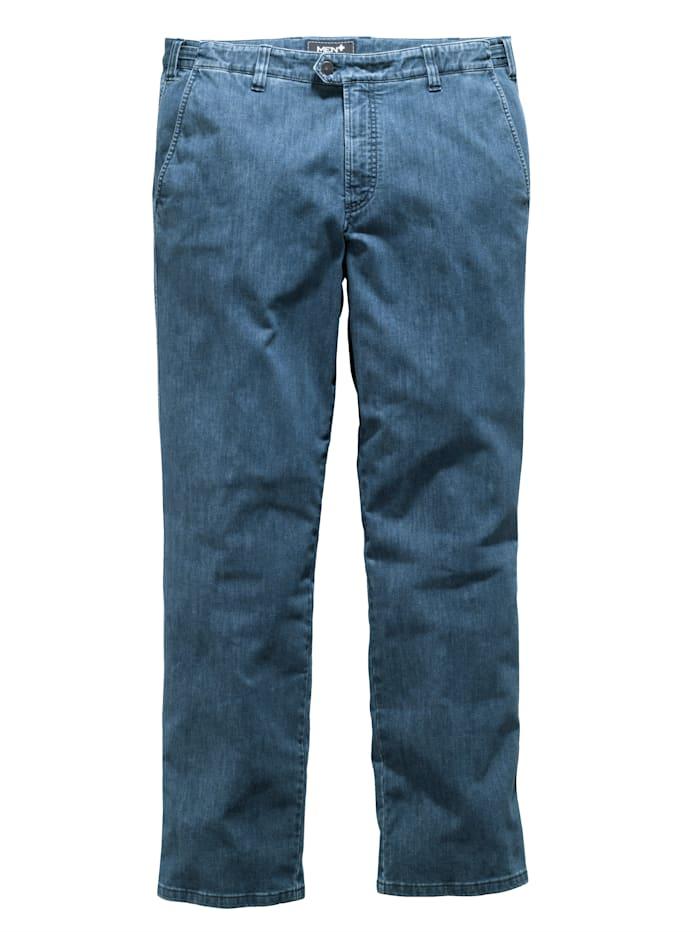 Bi-strečové džínsy v strečovej kvalite