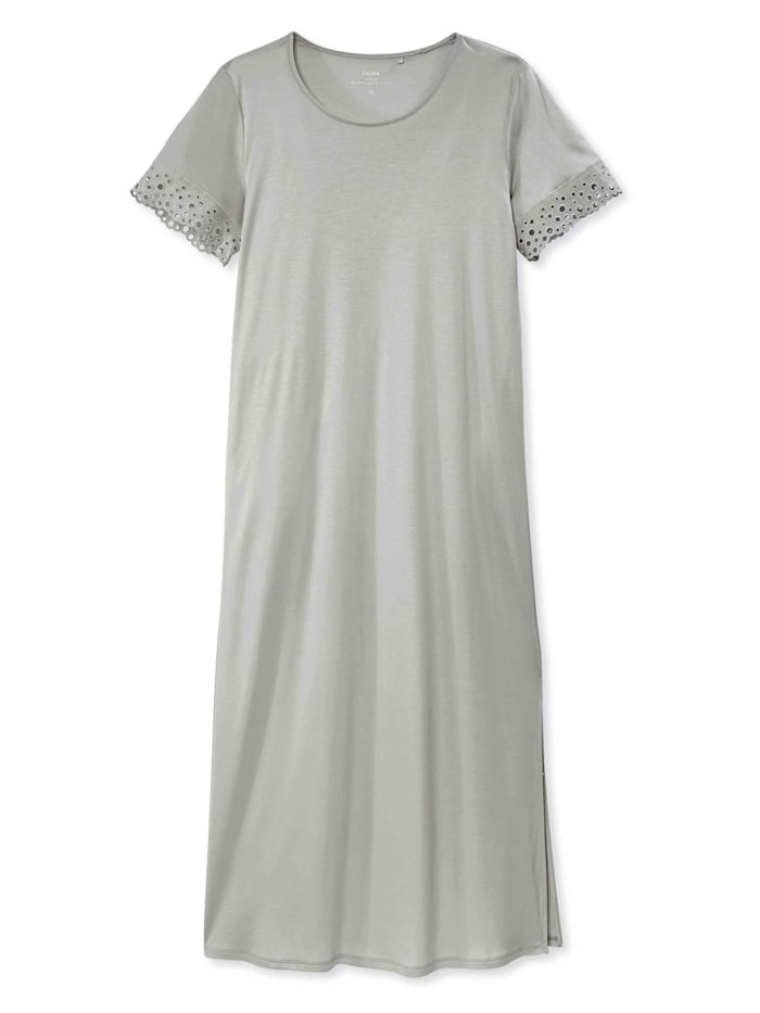 Calida Kurzarm-Nachthemd, Länge 125cm STANDARD 100 by OEKO-TEX zertifiziert, fog