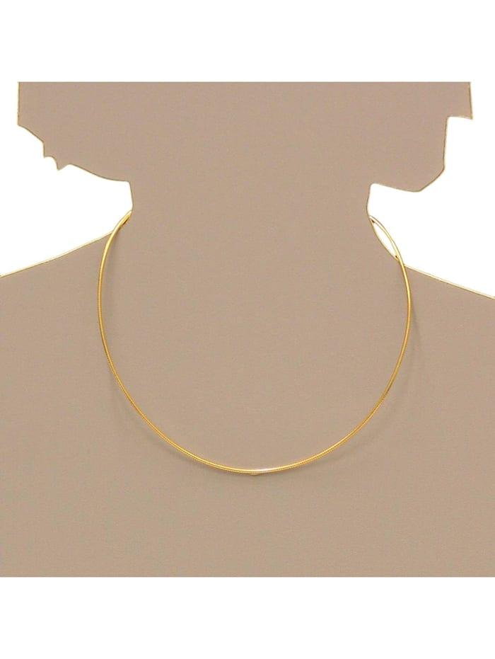 Halsreif - Omega 1,4 mm - Gold 585/000 - ,