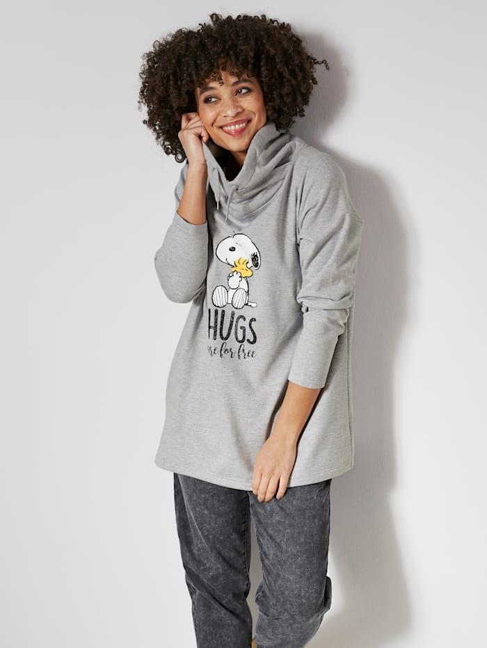 Sweatshirt met Snoopy-print