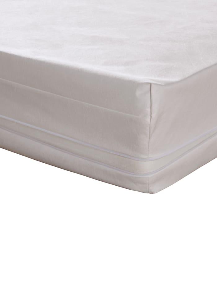Badenia Beskyttende madrasstrekk medicase, hvit