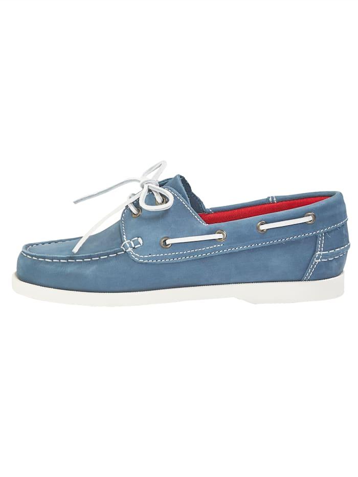 Chaussures bateau de style sport