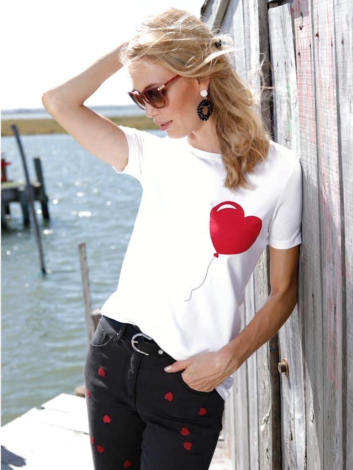 Shirt mit Herz-Aufdruck