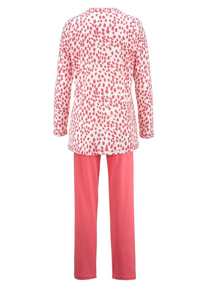 Pyjama met opgestikte borstzak