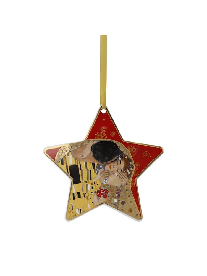 Goebel Goebel Hängeornament Gustav Klimt - Der Kuss rot, Klimt - Kuss