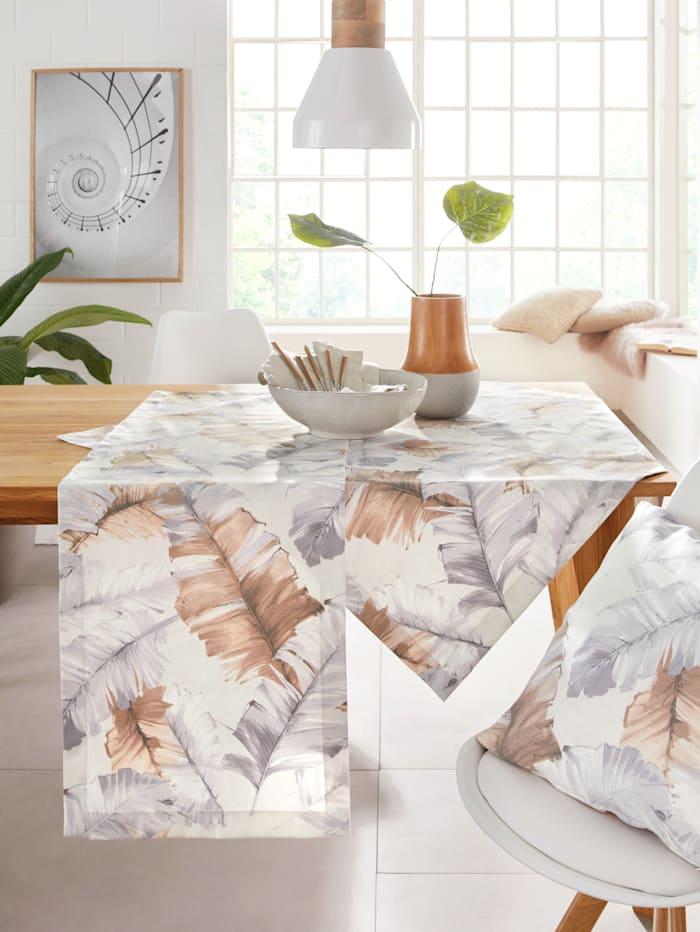 """Hossner Linge de table """"Estefania"""", Écru/multicolore"""