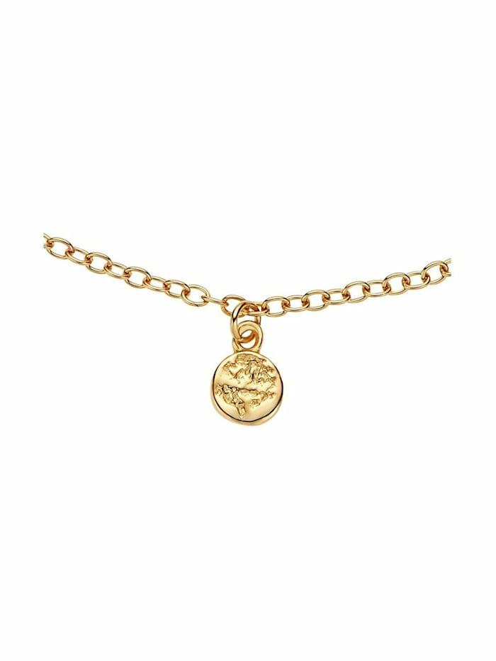 Armband für Damen, Sterling Silber 925, Coin