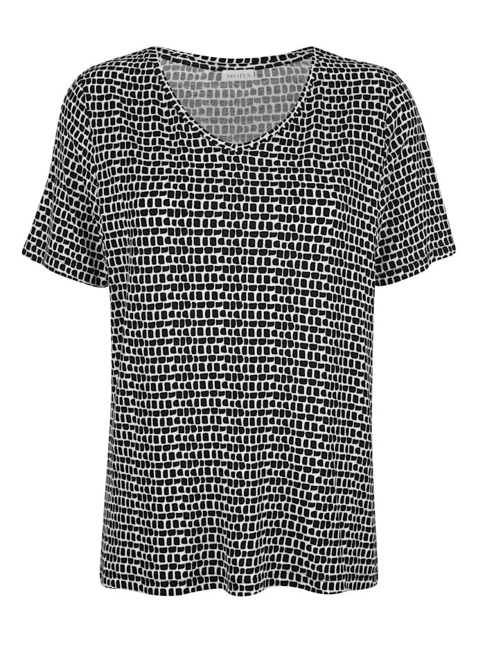 Shirt in Viscose-Qualität