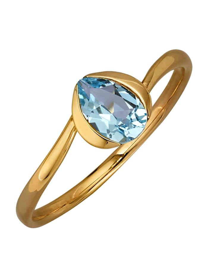 Damenring, Blau