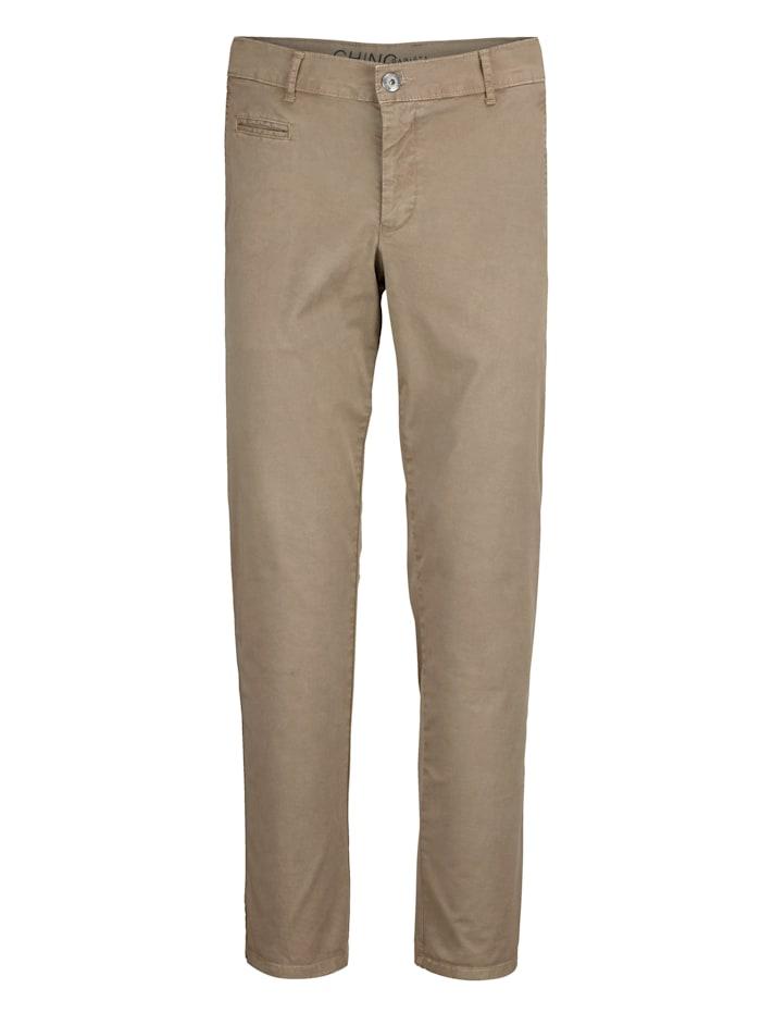BABISTA Pantalon chino en coton PIMA, Camel