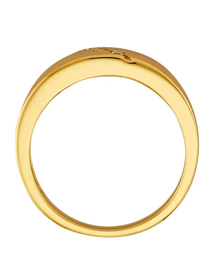 Damenring vergoldet