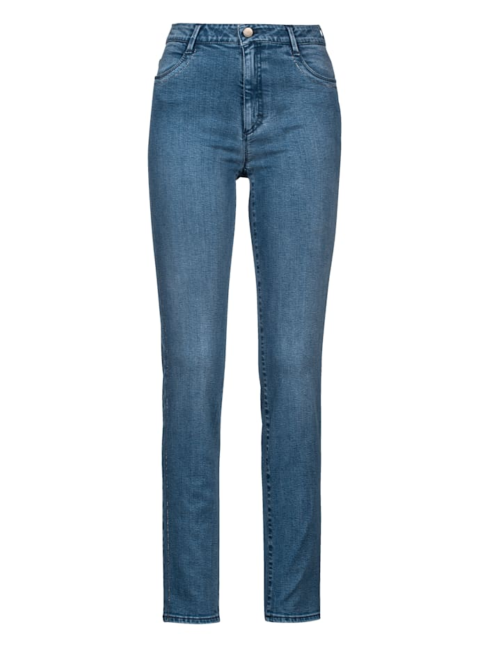 Jeans 'Shakira' mit Hotfixsteinchen