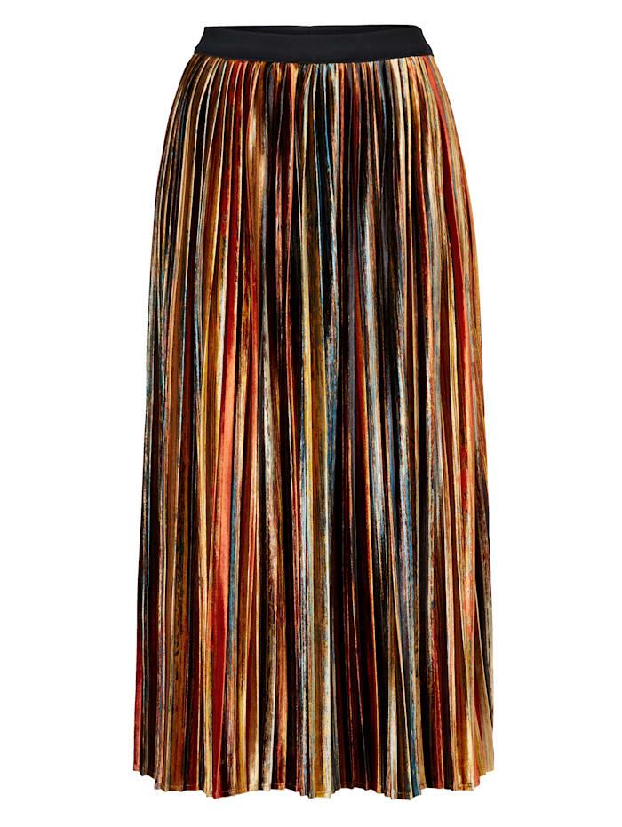 SIENNA Samtrock, Multicolor