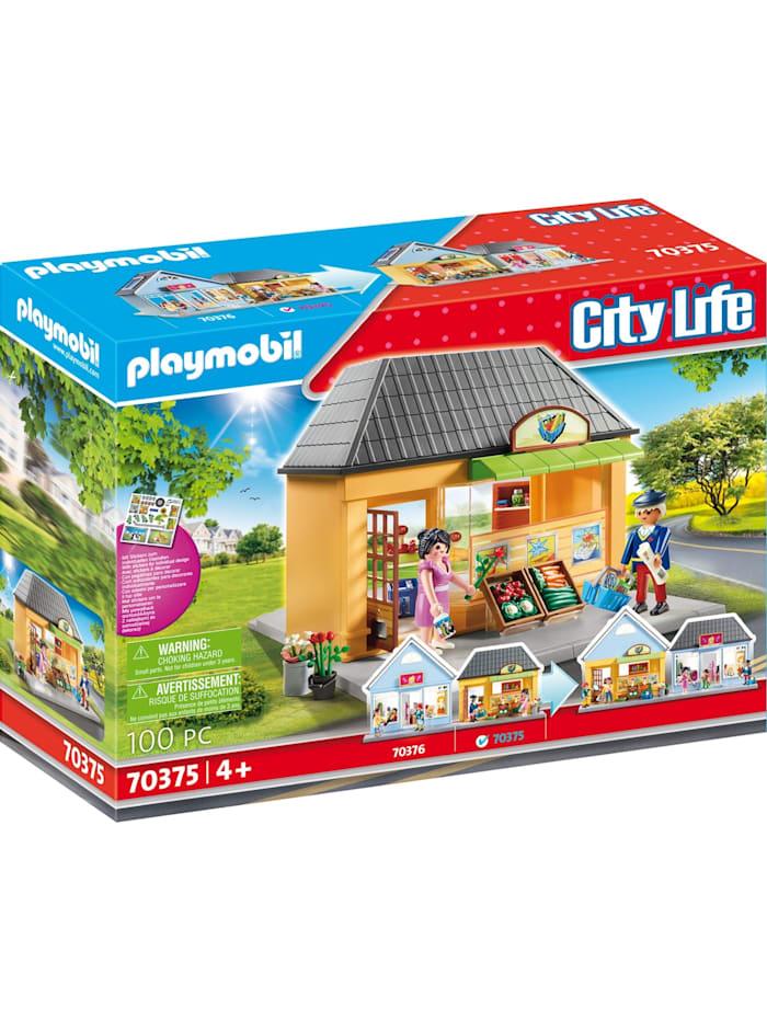 PLAYMOBIL Konstruktionsspielzeug Mein Supermarkt, bunt/multi
