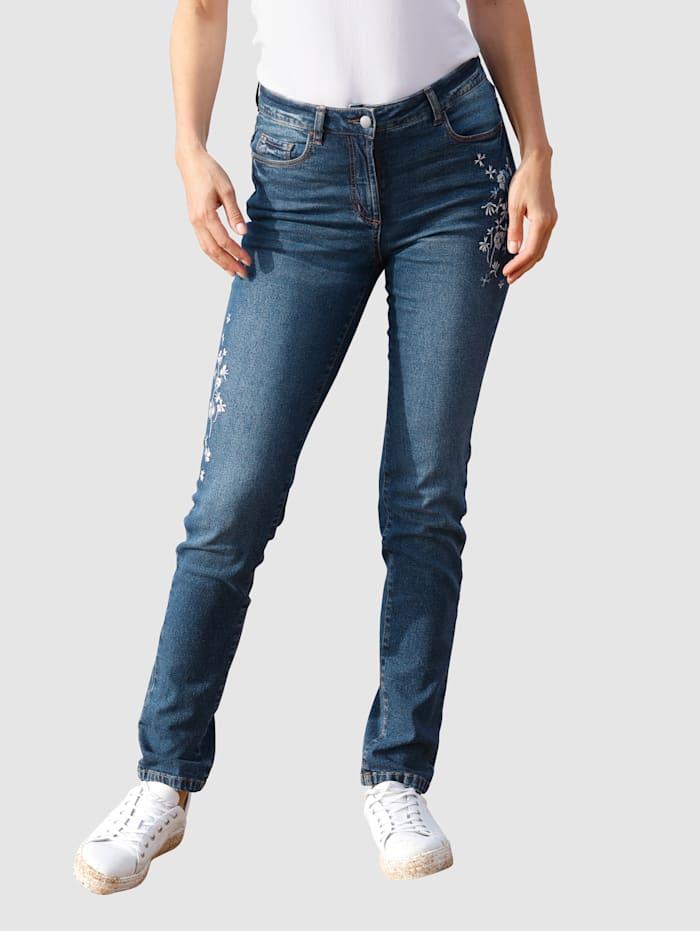basically you Jeans in Sabine Slim model, Blauw