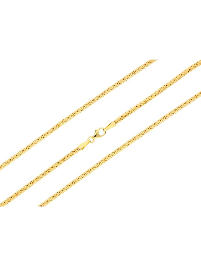 Königskette in Gelbgold 375