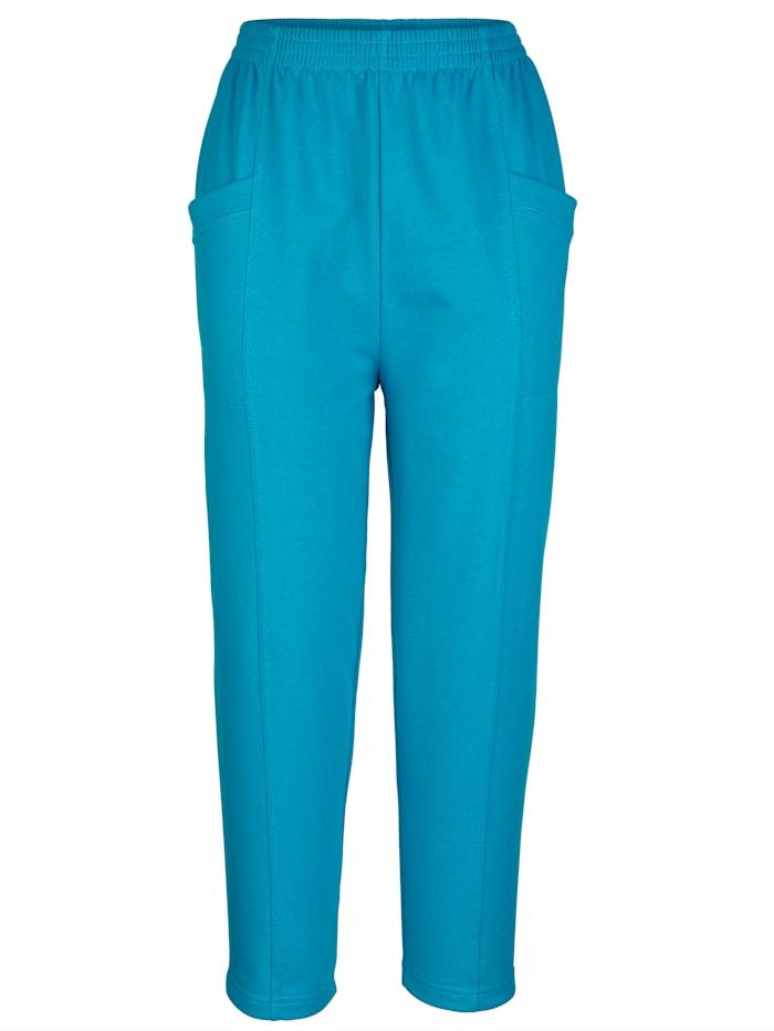 Dress In Caprihose in bequemer Passform, Blau