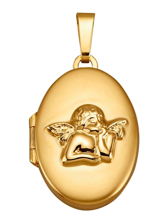 Diemer Gold Medaillon, Geelgoudkleur