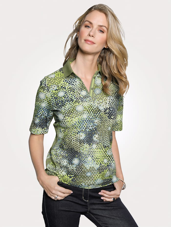 Polo Shirt with a graphic print