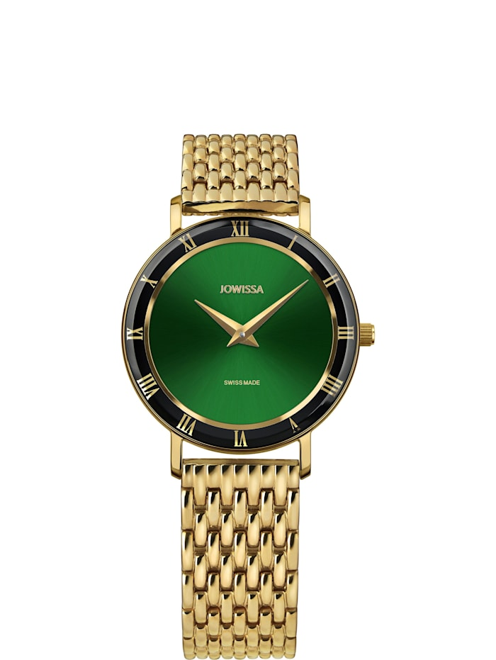 Jowissa Quarzuhr Roma Swiss Ladies Watch, grün