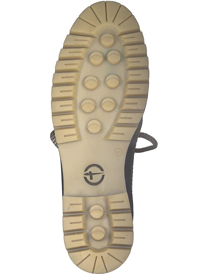1-26253-21 751 Damen Petrol Blau Schnürstiefelette Lace-Up Boots mit Warmlining