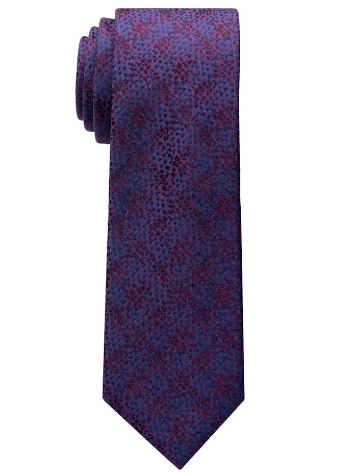 Eterna Eterna Krawatte schmal, bordeaux