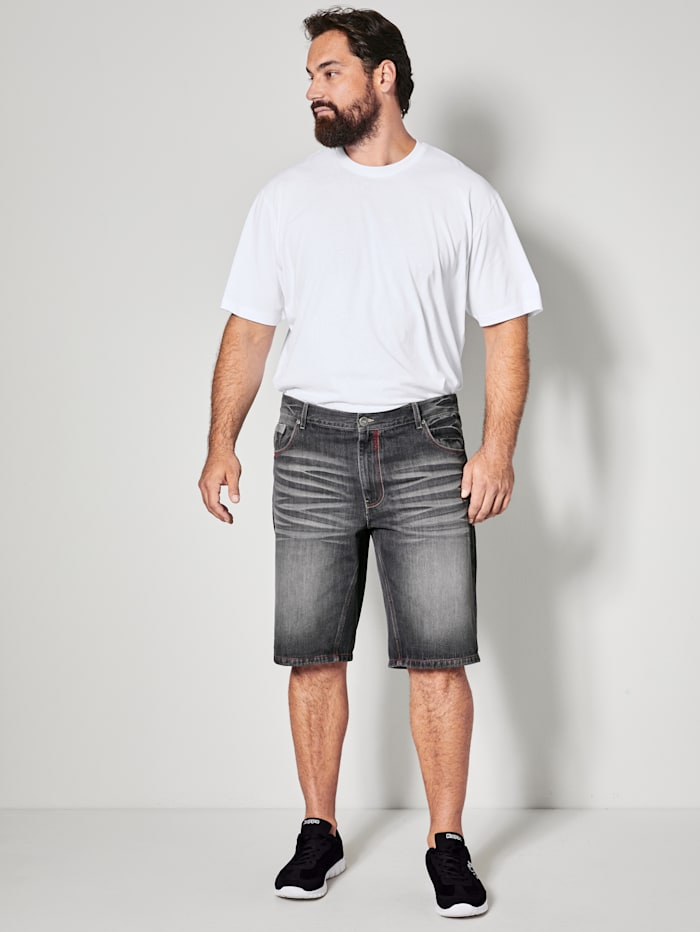 Jeans Bermuda in 5-Pocket-Form