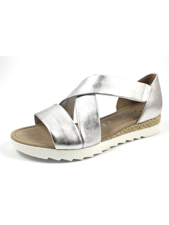 Gabor Sandalen/Sandaletten, metall