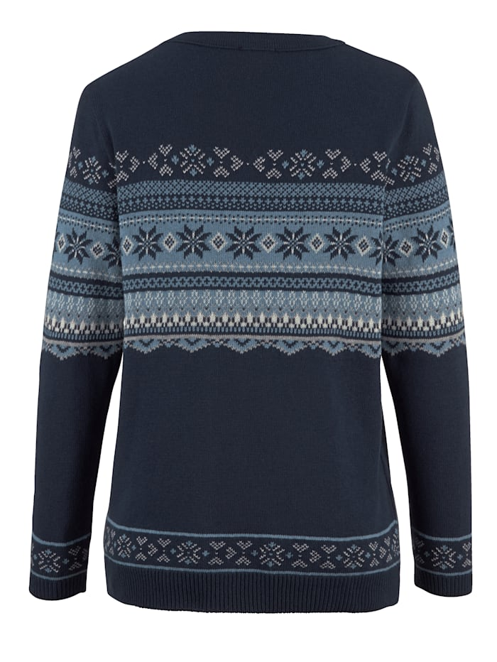 Pullover mit Norwegermsuter
