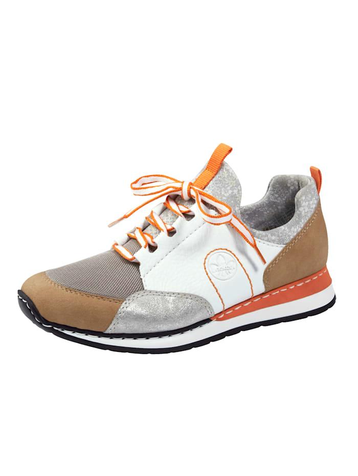 Rieker Sneaker mit weichem Schaftabschluss, Multicolor