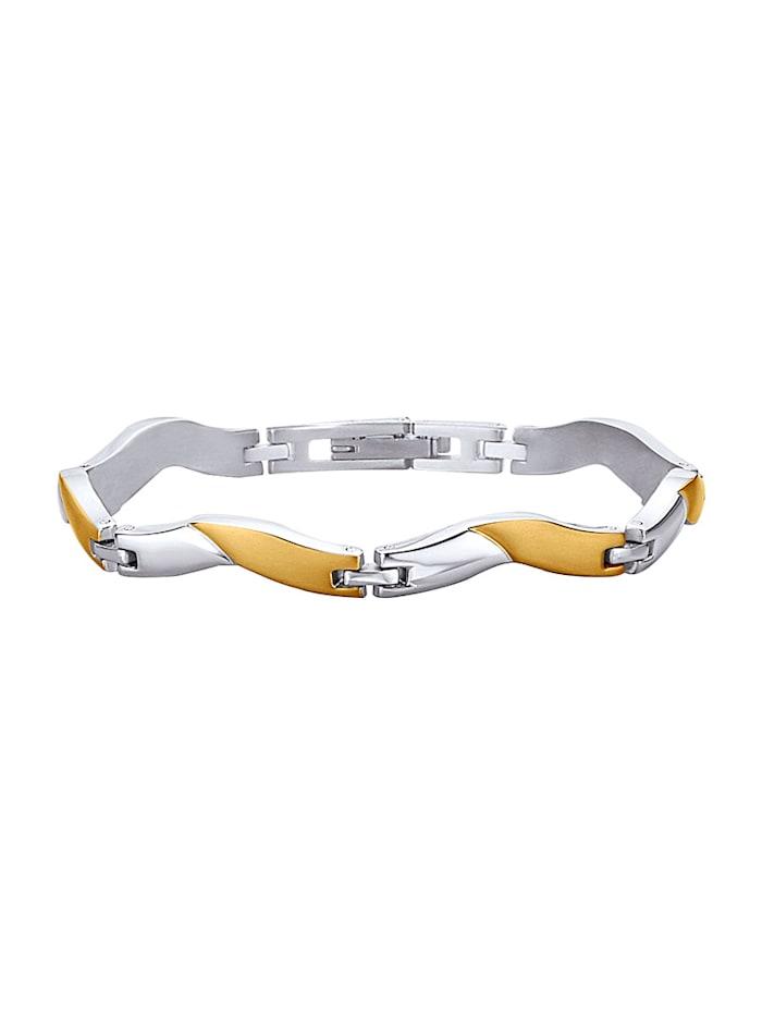 AMY VERMONT Armband satiniert, Grau