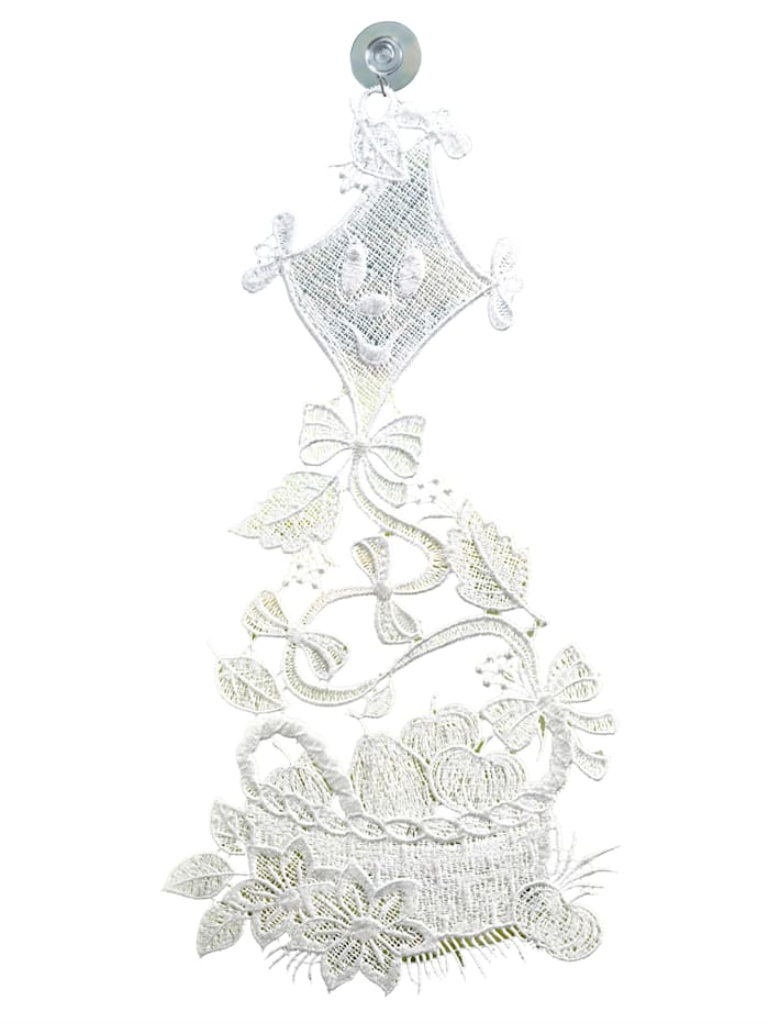 Raebel Vindusdekorasjon -Drage-, hvit