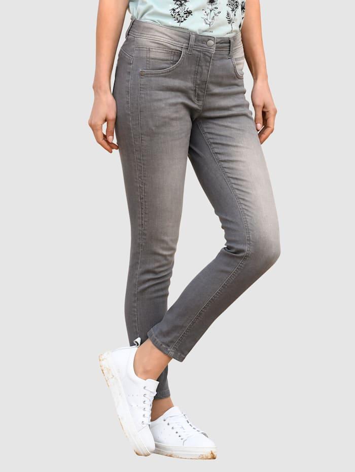 basically you Jeans Sabine extra Slim, Dark grey