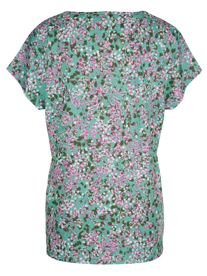Shirt in licht getailleerd model