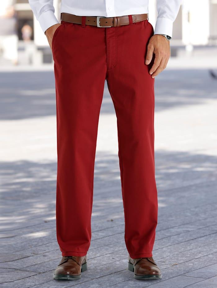 BABISTA Reisehose mit 7 cm mehr Bundweite, Rot