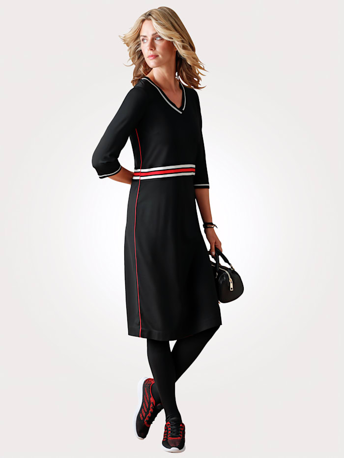 Kleid in Jersey-Qualität