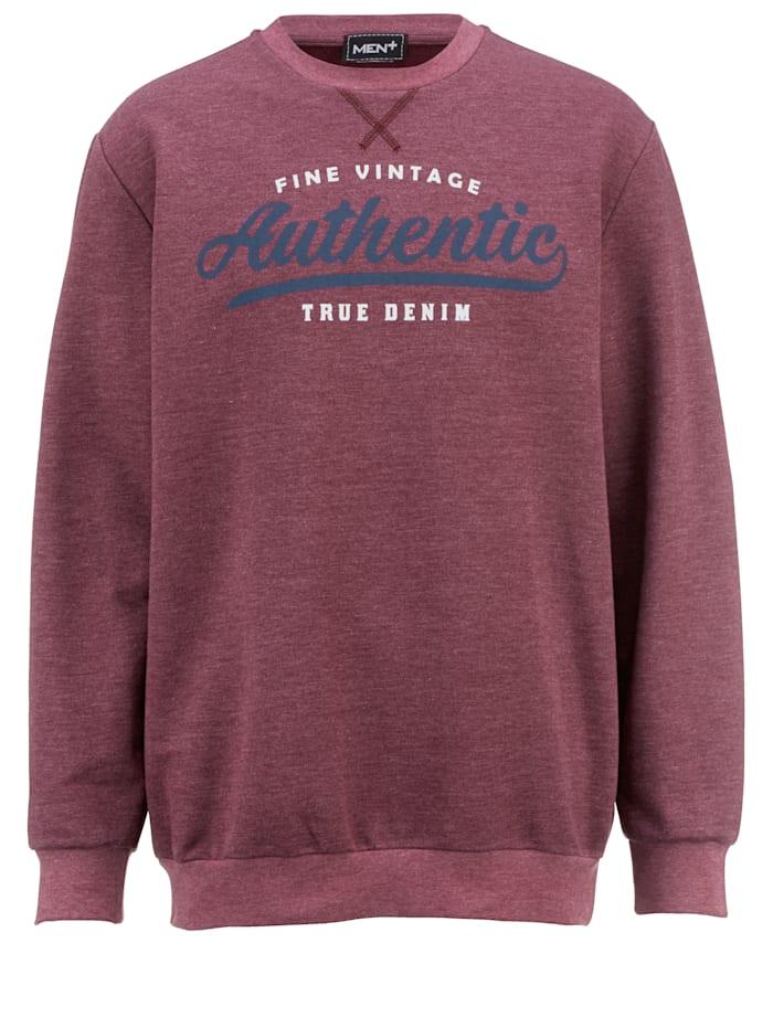 Sweatshirt van comfortabel, zomers materiaal