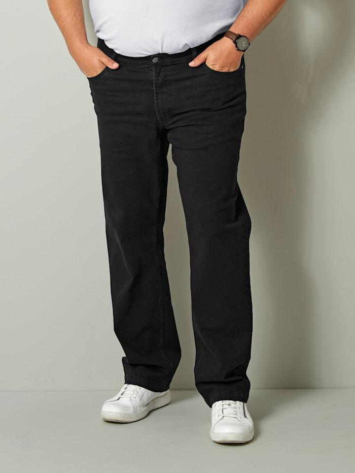 Men Plus Jeans in speciaal, Black