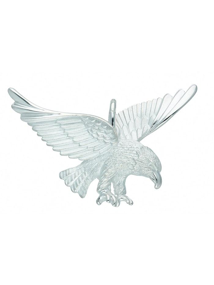 1001 Diamonds Damen Silberschmuck 925 Silber Anhänger Adler, silber