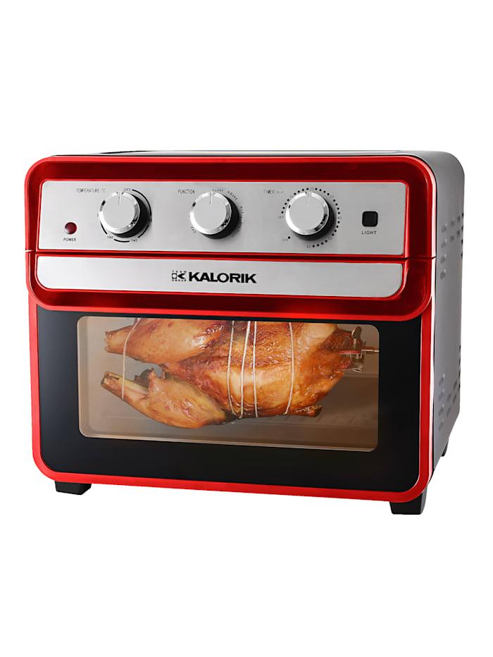 Kalorik Multifunctionele oven, Rood/Zilverkleur