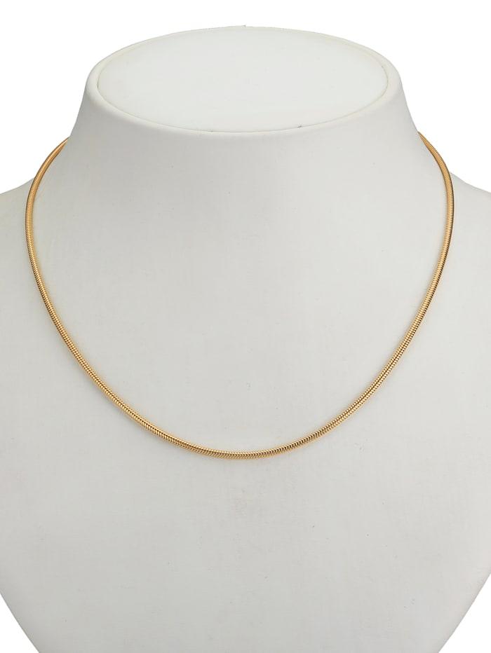 Schlangenkette in Gold 585