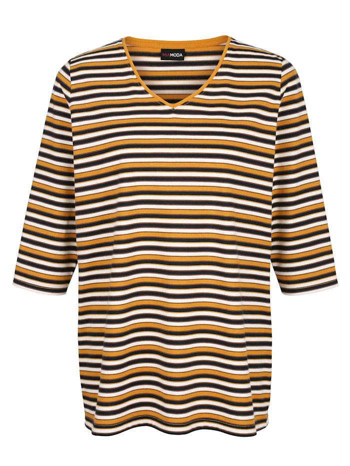 Shirt mit aktuellem Streifendruck