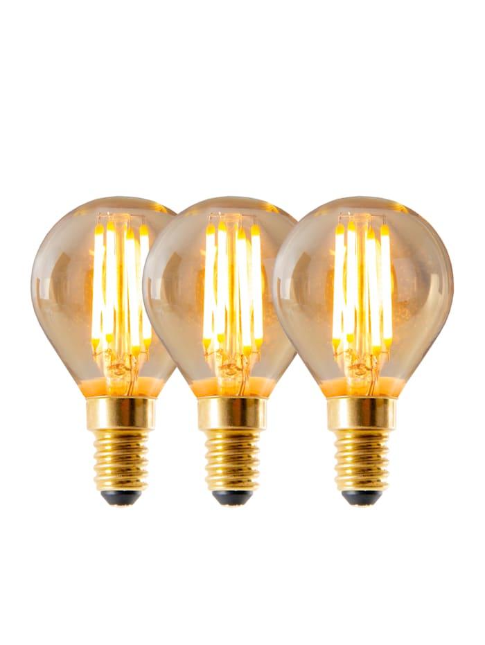 Näve 3er Set LED-Leuchtmittel E14/4W, warmweiß