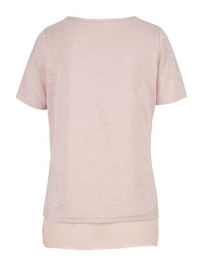 T-shirt à fil brillant
