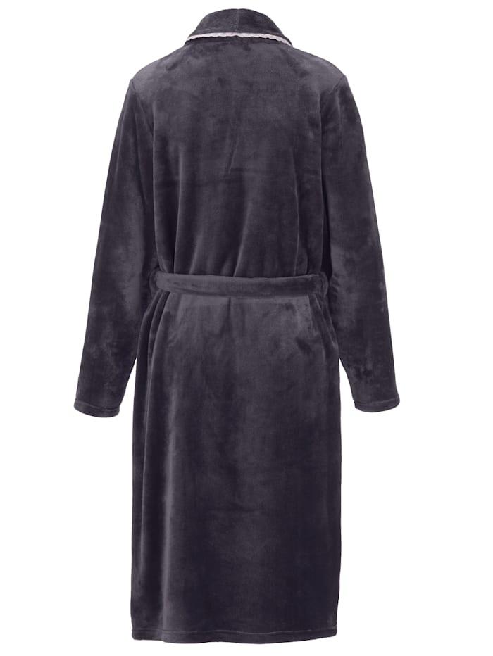 Bademantel in weicher Fleece-Qualität