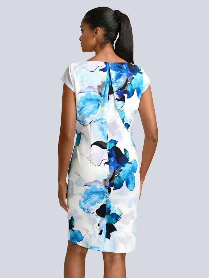 Kleid in floralem Print