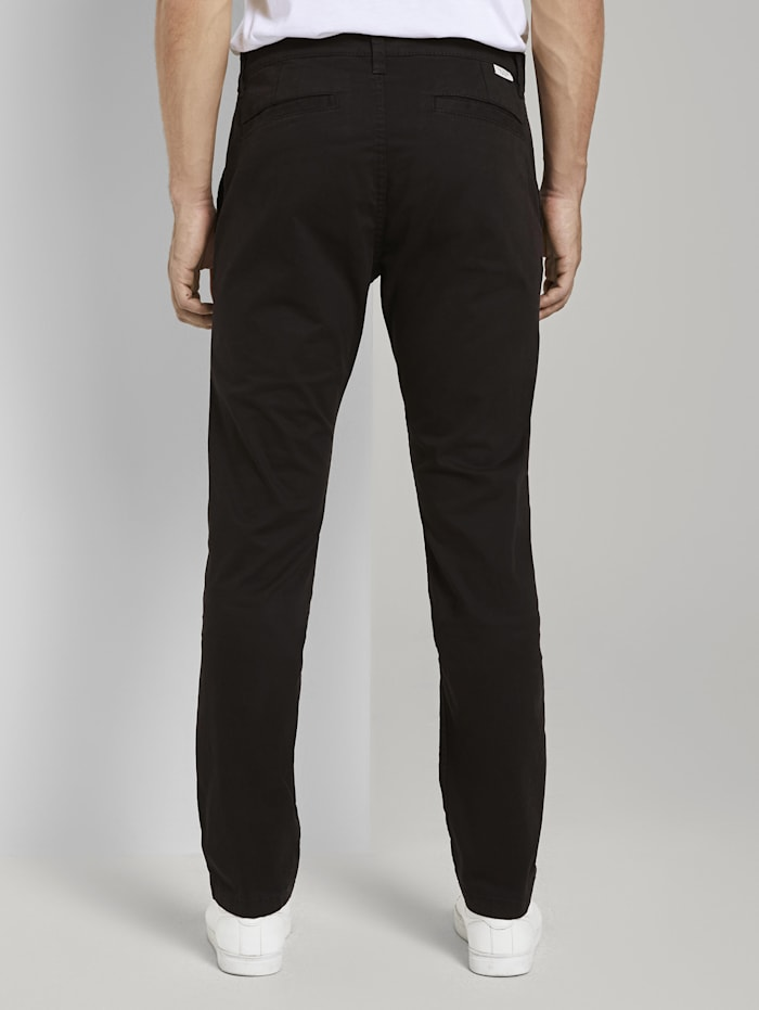 Travis Slim Chino Hose im Washed-Look
